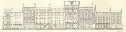 grosvenor square individual houses built before 1926 british grosvenor square in c 1930
