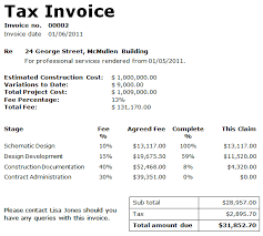 invoice details example free printable invoice