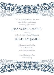 Design Patterns For Invitation Cards Magnificent Wedding Invitation Templates Word Theruntime Com