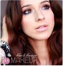alina rose makeup makijaż na lato kolorowa dolna powieka brąz