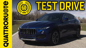 maserati truck on 24s maserati levante 3 0 v6 exclusive test drive premiere youtube