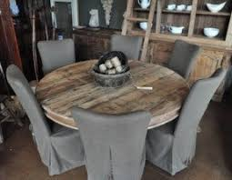 round wooden table foter