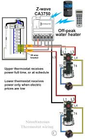 electric water heater wiring diagram electric water heater