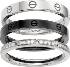 ceramic gold rings images Crb4097800 love ring white gold ceramic diamonds cartier png