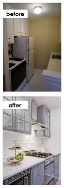 ideas for small kitchens in apartments small kitchen diy ideas before after remodel pictures of tiny