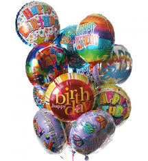 mylar balloon bouquet birthday balloon bouquet 12 mylar balloons make their