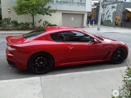 red maserati maserati granturismo mc stradale 13 august 2014 autogespot