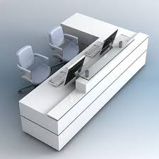 Revit Reception Desk Reception Desk 3d Models For Download Turbosquid