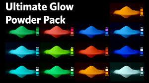 Glow In The Dark Home Decor Glow In The Dark Neutral Glow Powders Glonation