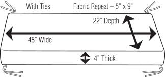 How To Calculate Yardage For Upholstery Cushion Fabric Yardage Guide Designer Custom Source
