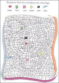 coloriage magique cm1 multiplication a imprimer dessincoloriage