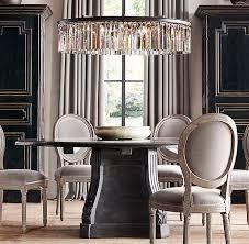 sala da pranzo in francese orizzale vintage francese imbottito sedie da pranzo in tessuto