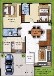 Villa Floor Plan by Bougainvillea Villas By Infrany Ventures