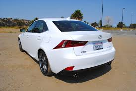 sporty lexus 4 door 2016 lexus is350 f sport test drive review autonation drive