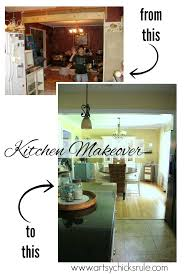Kitchen Makeover Before And After - major kitchen remodel before u0026 after artsy rule