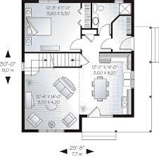 cottage style house plan 2 beds 2 00 baths 1168 sq ft plan 23 488