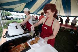 food draws crowd to polish picnic at st joseph church the