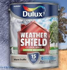 dulux weather shield exterior walls masonry paint smooth warm