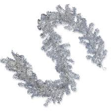 national tree company 6 ft silver tinsel garland tt33 50 6a 1