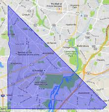 Zip Code Map Washington by Ne Washington Dc A Map And Neighborhood Guide