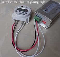 led aquarium light with timer sunset sunrise led grow light controller and timer 150w 12v for