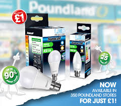 just bulbs the light bulb store supacell led will be retailed in 350 poundland stores for only 1