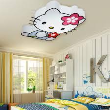 Children Bedroom Lights Bedroom Lighting Attractive Modern Led Hello Cat