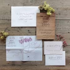 handwritten wedding invitations winter wedding invitations bring feeling for you