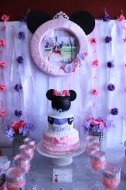 arabella u0027s princess minnie mouse birthday party project nursery