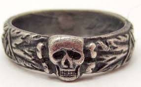 ss wedding ring german waffen ss officer toten kopf wedding ring