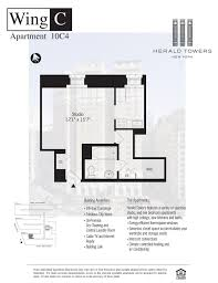 Panorama Towers Floor Plans Herald Towers Midtown West Manhattan Scout