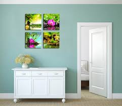 amazon com canvas prints zen art wall decor spa massage amazon com canvas prints zen art wall decor spa massage treatment painting picture print on canvas framed ready to hang red orchid frangipani bamboo