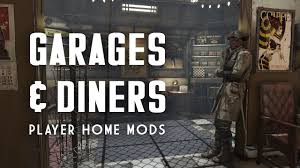 Best Home Garages Only The Best Garage U0026 Diner Player Homes Fallout 4 Mods Youtube