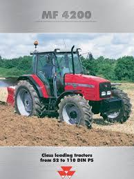 mf 4200 serie brochure manual transmission transmission