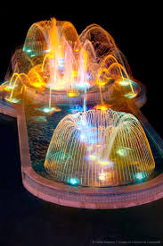 Solar Powered Water Features With Led Lights by Best 25 Fountain Lights Ideas On Pinterest Lighting For Gardens
