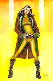Men Rogue Halloween Costume Rogue Rogues Marvel Comic