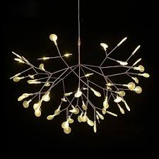 Chandelier Creative Vintage Leaf Chandelier Lighting Modern Acrylic Leaf Moooi