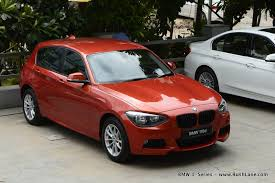 bmw one series india bmw india price list misses variants of 1 3 5 series x1