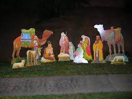 christmas christmas clearancecorations outdoor yard ebay lighted
