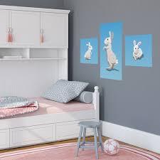 chambre lapin décoration lapin pour chambre de bébé clikétoile
