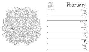 may coloring calendar color your year wall calendar 2016 mindful