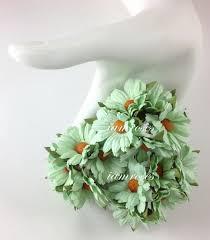 mint green flowers green flowers