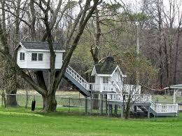 Tree House Backyard by Simple Treehouses For Kids Ideas Iimajackrussell Garages