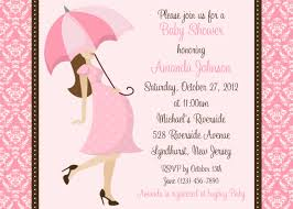 baby shower invitations girl template baby shower invitation cards