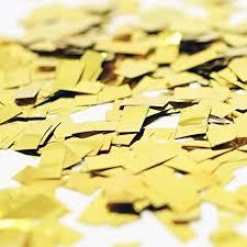 shredded mylar metallic gold foil shredded confetti paper glitter party