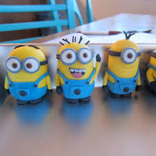 despicable me fondant minions 4 steps with pictures