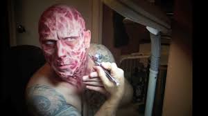Halloween Airbrush Makeup Kit by How To Make Up Fx Freddy Krueger Music By The Abyss Youtube