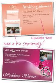 free wedding shower invitation templates customize and print