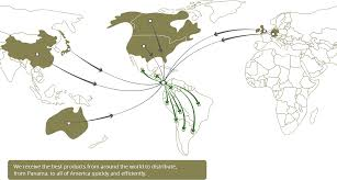 Panama World Map by Panama Logistics Hub J Cain U0026 Co Supply Chain Services In