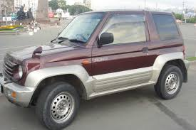 used 1995 mitsubishi pajero junior photos 1100cc gasoline